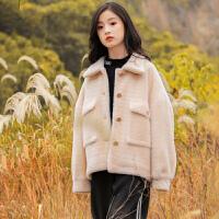女童大衣秋冬装新款儿童毛呢子外套