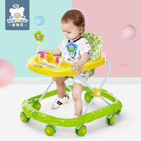 儿童学步车可折叠带音乐学行手推车6/7-18个月宝宝