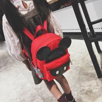 七夕礼物儿童背包幼儿园双肩包3-5岁男女宝宝书包卡通旅行背包男童女孩包 红色