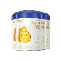 惠氏启赋(Wyeth illuma)2段奶粉 爱尔兰进口 6-12月较大婴儿配方 900克*4罐装