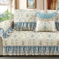 四季沙发垫客厅通用欧式皮布艺坐垫子全盖沙发罩沙发套全包�f能套