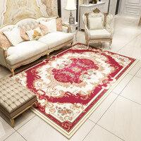 欧式地毯客厅卧室茶几垫沙发床边毯满铺地毯美式田园长方形定制 2.0*3.0米 (收藏加购送40*60地垫)