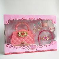 美少女战士魔法棒巴比公主包包女童头饰发饰皇冠套装过家家玩具 2065粉色包