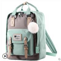 户外包包书包休闲旅行包双肩包女包韩版新款帆布时尚少女心背包