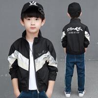 童装男童外套夹克春装儿童中大童薄款春秋上衣棒球服