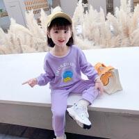 女童秋装运动套装洋气2021新款网红时髦春秋季儿童衣服宝宝两件套