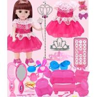 会说话的智能对话芭芘洋娃娃套装婴儿童小女孩玩具公主单个布