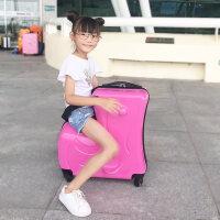 儿童行李箱可坐骑拉杆箱童宝宝箱子卡通小孩骑行带娃旅行箱