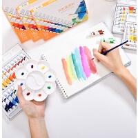水彩颜料套装水粉画初学者小学生用儿童可水洗幼儿园绘画