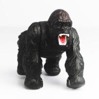 遥控猩猩电动玩具动物模型 遥控猩猩玩具 仿真直线爬行玩具 黑色
