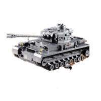 兼容乐高积木7儿童8拼装消防车3-6-10周岁男孩子4组装益智力玩具5 M:德国坦克(共1193块积木) 高难度8岁以