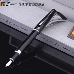 毕加索(pimio)钢笔919弯尖1.0mm美工笔0.5mm铱金笔艺术签名笔学生练字书法笔礼盒装
