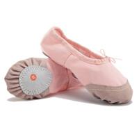 doxa儿童舞蹈鞋女软底猫爪鞋芭蕾舞鞋女童帆布跳舞练功鞋瑜伽民族舞鞋