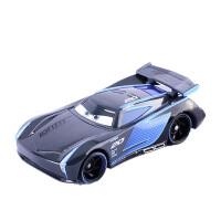赛车汽车总动员合金玩具车模型麦昆板牙黑风暴杰克逊车王 乳白色 黑风暴杰克逊