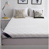 榻榻米床垫1.8m床双人针织床褥折叠垫褥子1.5m米学生宿舍海绵加厚