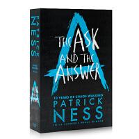 英文原版 混沌漫步2 问与答 The Ask and the Answer 小蜘蛛 荷兰弟主演同名电影原著 怪物来敲门