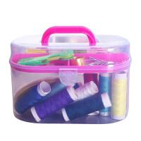 迷你针线盒小便携套装缝纫线家用手工针线可爱针线包缝纫工具