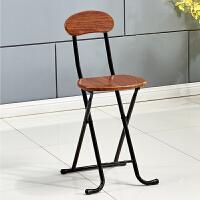 折叠椅子家用餐椅凳子靠背椅培训椅学生宿舍椅简约电脑椅折叠圆凳T
