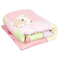 宝宝秋冬款两用被 儿童被子 双胆被 幼儿园被子送枕头
