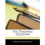 【预订】The Personal Equation