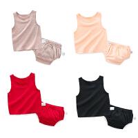 婴童装女宝宝洋气背心套装0女童5个月1岁2婴儿夏装