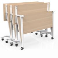 培训桌椅长条形桌折叠办公桌会议桌培训桌组合学生课桌折叠培训桌