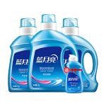 蓝月亮 洗衣液5瓶套装组合:薰衣草亮白洗衣液2kg*1+薰衣草亮白洗衣液1kg*2+80g*1瓶