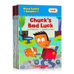 Word Family Readers学乐词根家族自然拼读阅读套装17册盒装 英文原版 Scholastic 儿童自然