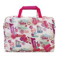 14寸电脑包女13.3手提通用可爱时尚韩版 15.6寸笔记本包 英伦玫瑰 13寸