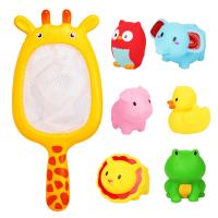男女孩沙滩玩具套装0-1-2岁宝宝洗澡玩具婴幼儿戏水捞捞乐