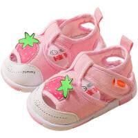 女童凉鞋2019新款2宝宝1-3岁儿童时尚小公主夏季软底婴儿防滑男童