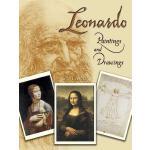 【预订】Leonardo Paintings and Drawings: 24 Cards
