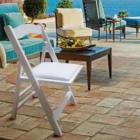 北欧多功能折叠椅简易单人户外靠背椅子 便携式实木椅子 白色 43*41*80