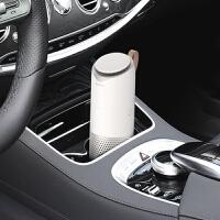 车载空气净化器PM2.5车载净化器家用 汽车空气净化器除甲醛异味负离子香熏 时尚白 净化器