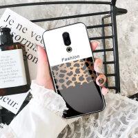 魅族16s手机壳玻璃魅族16创意个性16x保护套16thplus全包防摔豹纹