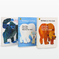 艾瑞卡尔Brown Bear, Brown Bear, What Do You See+Polar Bear,Pola