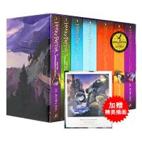 哈利波特全集 英文原版 Harry Potter1-7册英语原著 英国小说正版jk罗琳哈利波特与魔法石第一部密室死亡圣器