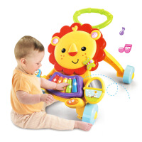 宝宝狮子学步手推车 婴儿手推学步推车儿童玩具1岁 新