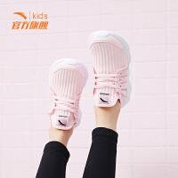 【到手价139】安踏女鞋女童跑步鞋2019春季新款儿童运动鞋休闲鞋女网红老爹鞋子