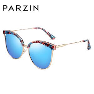 帕森偏光太阳镜 女 时尚金属板材镜架潮流墨镜驾驶镜9738K