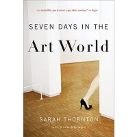 英文原版 艺术世界中的7天 Seven Days in the Art World 萨拉・桑顿 Sarah Thorn