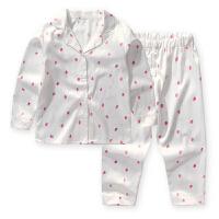 家居服韩版儿童睡衣套装儿童睡衣长袖春秋小孩中大童套装女孩开衫