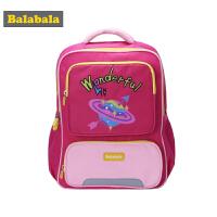巴拉巴拉女童包包儿童学生书包时尚双肩包秋季新款减负背包女