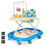 婴幼儿童学步车6/7-18个月宝宝助步车防侧翻多功能学行车带音乐