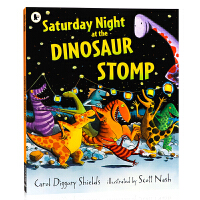 【满300-100】周六晚上恐龙派对 Saturday Night at the Dinosaur Stomp英文原版绘