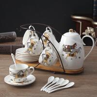 欧式陶瓷摆件现代客厅酒柜创意家居茶几装饰品骨瓷具结婚礼物