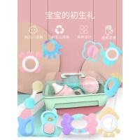 婴儿手摇铃宝宝益智可咬水煮牙胶0到1岁2玩具3个月6抓握训练9三四