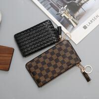 印花女包零钱包多卡位卡包女式韩国卡片包迷你超薄钱包便携小卡套