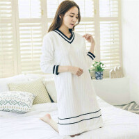 睡衣女冬珊瑚绒长袖韩版清新可外穿学生甜美秋冬款可爱冬季法兰绒
