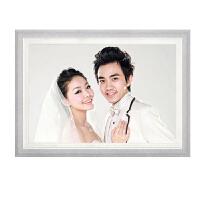 24寸36寸影楼婚纱照放大相片框创意简约挂墙洗结婚照片加相框定制